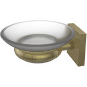Montero Collection Wall Mounted Soap Dish, Antique Brass