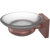 Montero Collection Wall Mounted Soap Dish, Antique Copper