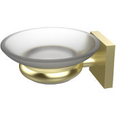 Montero Collection Wall Mounted Soap Dish, Satin Brass