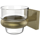 Montero Collection Wall Mounted Votive Candle Holder, Antique Brass