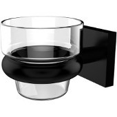 Montero Collection Wall Mounted Votive Candle Holder, Matte Black