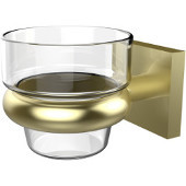 Montero Collection Wall Mounted Votive Candle Holder, Satin Brass