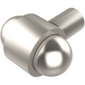 P-10 Series Cabinet Hardware 1-1/2'' W Cabinet Knob in Satin Nickel (Premium Finish), Available in Multiple Finishes