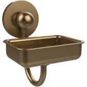 Prestige Skyline Collection Soap Dish w/Glass Liner, Premium Finish, Brushed Bronze