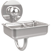 Prestige Skyline Collection Soap Dish w/Glass Liner, Standard Finish, Polished Chrome