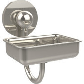 Prestige Skyline Collection Soap Dish w/Glass Liner, Premium Finish, Polished Nickel