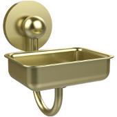 Prestige Skyline Collection Soap Dish w/Glass Liner, Premium Finish, Satin Brass