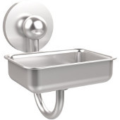 Prestige Skyline Collection Soap Dish w/Glass Liner, Premium Finish, Satin Chrome