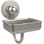 Prestige Skyline Collection Soap Dish w/Glass Liner, Premium Finish, Satin Nickel