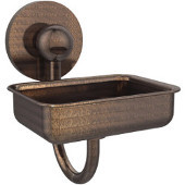 Prestige Skyline Collection Soap Dish w/Glass Liner, Premium Finish, Venetian Bronze