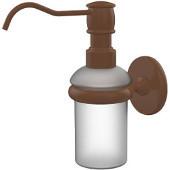Prestige Skyline Collection Wall Mounted Soap Dispenser, Premium Finish, Rustic Bronze
