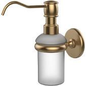Prestige Skyline Collection Wall Mounted Soap Dispenser, Premium Finish, Brushed Bronze