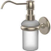 Prestige Skyline Collection Wall Mounted Soap Dispenser, Premium Finish, Antique Pewter