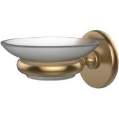 Prestige Skyline Collection Wall Mounted Soap Dish, Premium Finish, Brushed Bronze