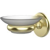 Prestige Skyline Collection Wall Mounted Soap Dish, Premium Finish, Satin Brass