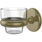 Prestige Skyline Collection Wall Mounted Votive Candle Holder, Premium Finish, Antique Brass