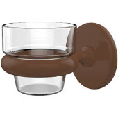 Prestige Skyline Collection Wall Mounted Votive Candle Holder, Premium Finish, Rustic Bronze