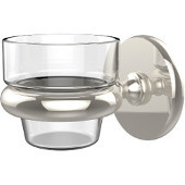 Prestige Skyline Collection Wall Mounted Votive Candle Holder, Premium Finish, Polished Nickel