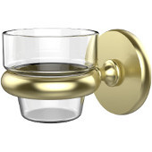 Prestige Skyline Collection Wall Mounted Votive Candle Holder, Premium Finish, Satin Brass