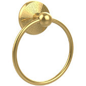 Prestige Monte Carlo Collection Towel Ring, Standard Finish, Polished Brass