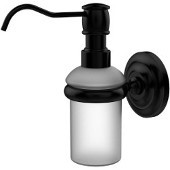 Prestige Que New Collection Wall Mounted Soap Dispenser, Matte Black