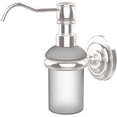 Prestige Que New Collection Wall Mounted Soap Dispenser, Standard Finish, Polished Chrome