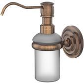 Prestige Que New Collection Wall Mounted Soap Dispenser, Premium Finish, Venetian Bronze