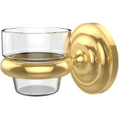 Prestige Que-New Collection Wall Mounted Votive Candle Holder, Standard Finish, Polished Brass
