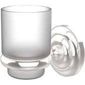 Prestige Que New Collection Wall Mounted Tumbler Holder, Standard Finish, Polished Chrome