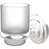 Prestige Que New Collection Wall Mounted Tumbler Holder, Premium Finish, Satin Chrome