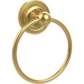 Prestige Regal Collection Towel Ring, Unlacquered Brass
