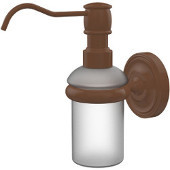 Prestige Regal Collection Wall Mounted Soap Dispenser, Premium Finish, Rustic Bronze