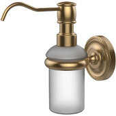 Prestige Regal Collection Wall Mounted Soap Dispenser, Premium Finish, Brushed Bronze