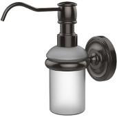 Prestige Regal Collection Wall Mounted Soap Dispenser, Premium Finish, Oil Rubbed Bronze