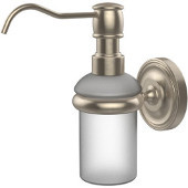 Prestige Regal Collection Wall Mounted Soap Dispenser, Premium Finish, Antique Pewter