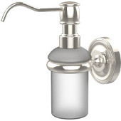 Prestige Regal Collection Wall Mounted Soap Dispenser, Premium Finish, Polished Nickel