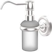 Prestige Regal Collection Wall Mounted Soap Dispenser, Premium Finish, Satin Chrome