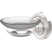 Prestige Regal Collection Wall Mounted Soap Dish Holder, Standard Finish, Polished Chrome