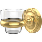 Prestige Regal Collection Wall Mounted Votive Candle Holder, Standard Finish, Polished Brass
