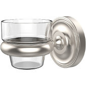 Prestige Regal Collection Wall Mounted Votive Candle Holder, Premium Finish, Satin Nickel
