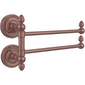 Prestige Regal Collection 2 Swing Arm Towel Rail, Antique Copper