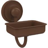 Prestige Regal Collection Soap Dish w/Glass Liner, Premium Finish, Rustic Bronze