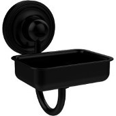Prestige Regal Collection Wall Mounted Soap Dish, Matte Black