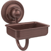 Prestige Regal Collection Soap Dish w/Glass Liner, Premium Finish, Antique Copper