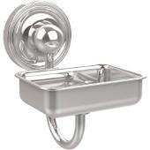 Prestige Regal Collection Soap Dish w/Glass Liner, Standard Finish, Polished Chrome