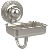 Prestige Regal Collection Soap Dish w/Glass Liner, Premium Finish, Polished Nickel