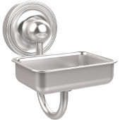 Prestige Regal Collection Soap Dish w/Glass Liner, Premium Finish, Satin Chrome