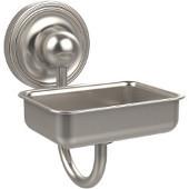 Prestige Regal Collection Soap Dish w/Glass Liner, Premium Finish, Satin Nickel