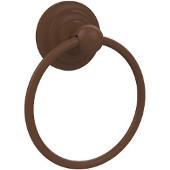 Que New Collection Towel Ring, Premium Finish, Rustic Bronze
