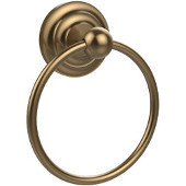 Que New Collection Towel Ring, Premium Finish, Brushed Bronze